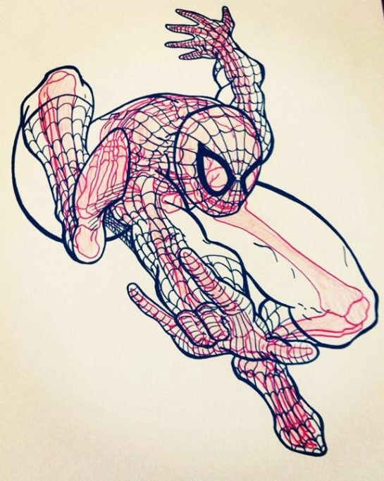 Chris Panda Spider-Man