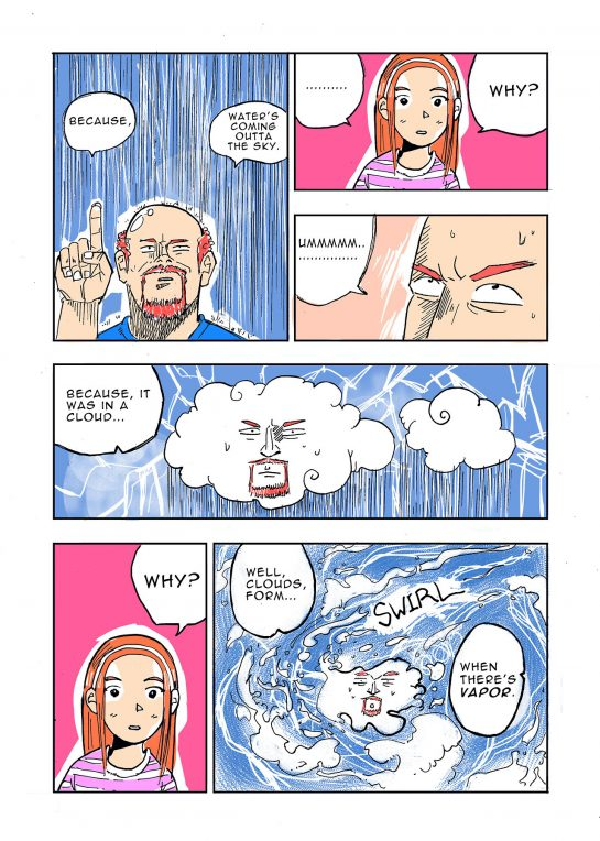 Louis CK comic by Jaeil Cho