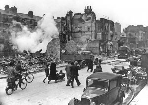 London in World War II. Crummy!